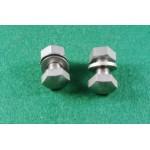 2 mounting screws/nuts for Headlamp Bracket