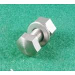 steering damper mounting plate fixing screw/nut