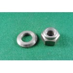 swing arm shaft nut and collar