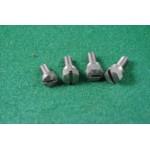 3 hex / 1 plain rear ins cover screws