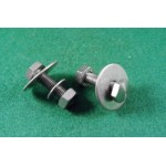 2 U bracket screws/nuts