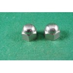 rocker spindle dome nuts post '54 Gold Star 65-1856 (pair)