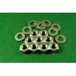 9 cylinder base nuts (A10 etc)