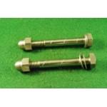 2 bottom yoke pinch bolts / acorn nuts