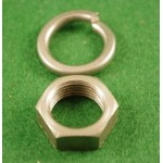 fulcrum pin nut plus washer 2-2527 (also suits rear brake cable abutment)