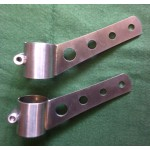 Headlamp Brackets (pair) (Stainless)
